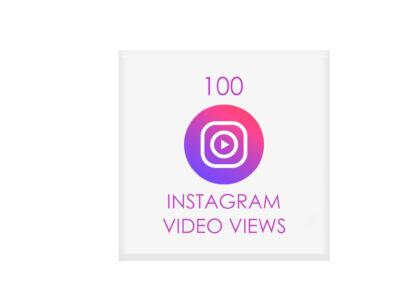 100 nstagram video views