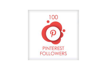 100 pinterest followers