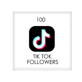 100 tik tok FOLLowers