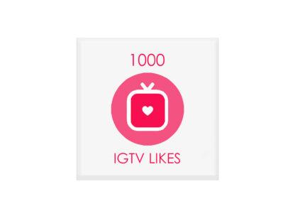 1000 igtv likes
