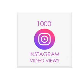 1000 instagram video views