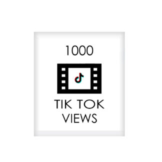 1000 tik tok VIEWS