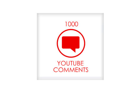 1000 youtube comments