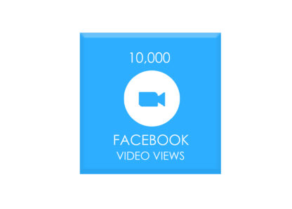 10,000 FACEBOOK VIDEO VIEWS