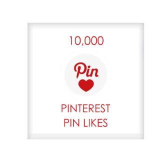 10,000 pinterest PIN LIKES