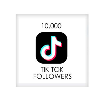 10,000 tik tok FOLLowers
