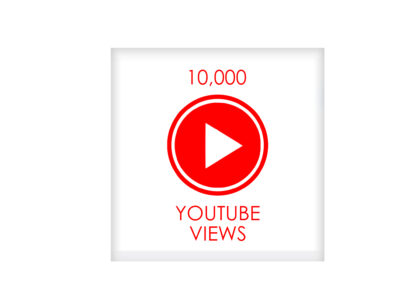 10,000 youtube VIEWS