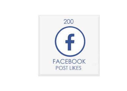200 facebook POST likes