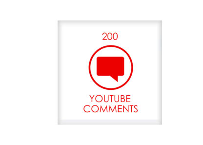 200 youtube comments