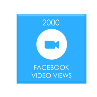 2000 facebook video views