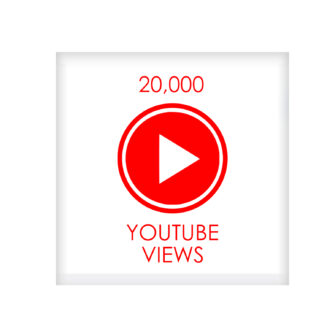 20,000 youtube VIEWS