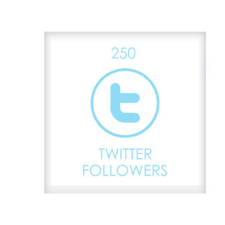 250 TWITTER FOLLOWERS