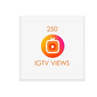 250 igtv views