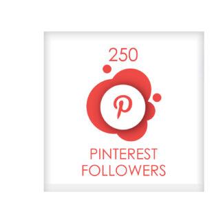 250 pinterest followers