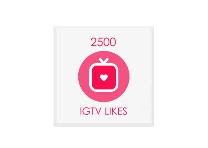 2500 igtv likes