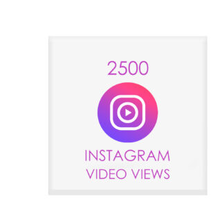 2500 instagram video views