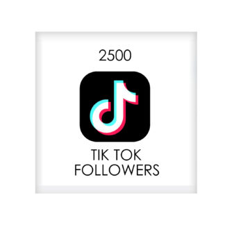 2500 tik tok FOLLowers