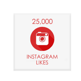 25000 instagram likes