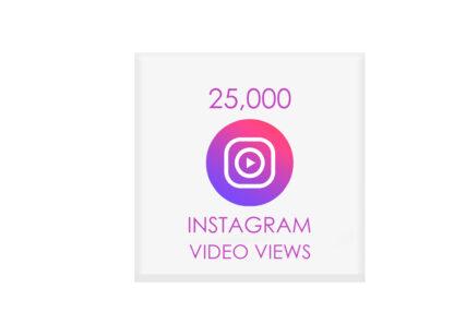 25000 instagram video views
