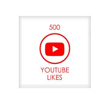 500 youtube LIKES