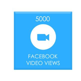5000 facebook video views