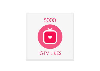 5000 igtv likes